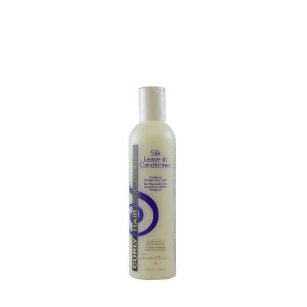 Curly Hair Solution Silk 8-ounce Leave-In Conditioner