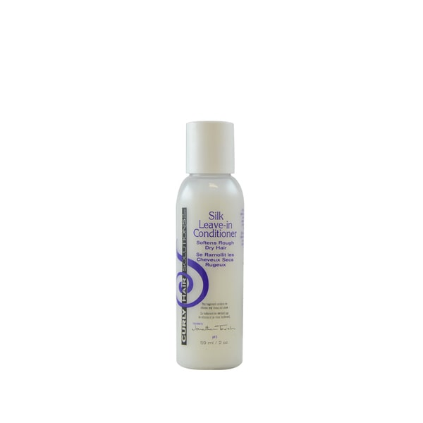 Curly Hair Solution Silk 2-ounce Leave-In Conditioner