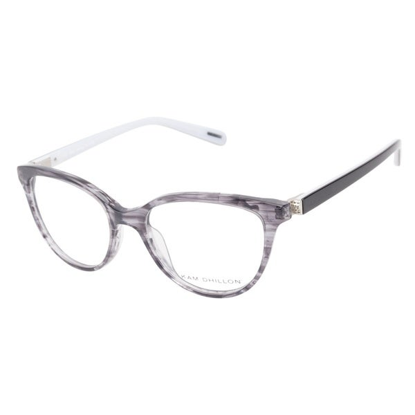Kam Dhillon 3059 Ink Grey Prescription Eyeglasses