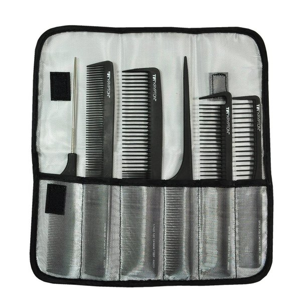 Krypton Carbon 6-piece TiFi Comb Kit