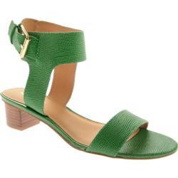 Women's Nine West Tasha Green Leather