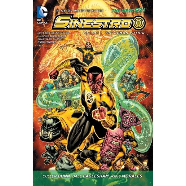 Sinestro 1: The Demon Within (Paperback) 12898601