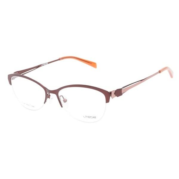 Ltede 1103 Brown Prescription Eyeglasses