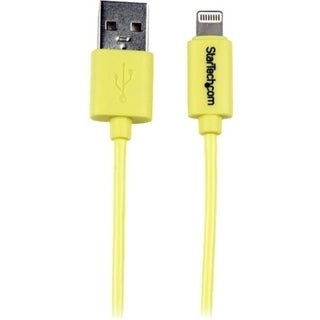 StarTech.com 1m (3ft) Yellow Apple 8-pin Lightning Connector to USB C