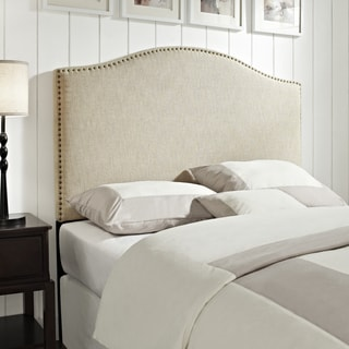 Linen Queen/Full Size Upholstered Headboard
