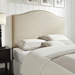 Linen Queen/Full Size Upholstered Headboard
