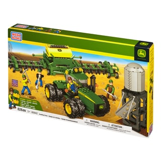 Mega Bloks Hometown John Deere Seeding Crew