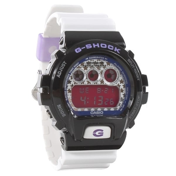 Casio G-Shock DW6900SC-1 Black/ White Watch