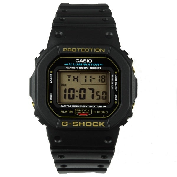 Casio G-Shock DW5600EG-9 Black Watch