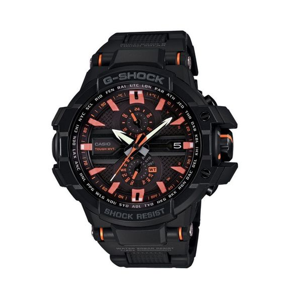Casio G-Shock GWA1000FC-1A4 Men's Analog-Digital Sporty Black Plastic Watch