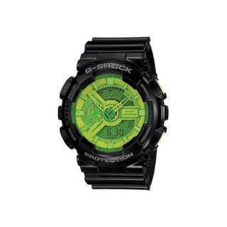 Casio G-Shock GA110B-1A3 Black/ Green Watch