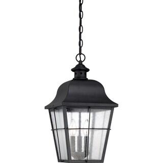 Millhouse with Mystic Black Finish, Large Hanging Lantern