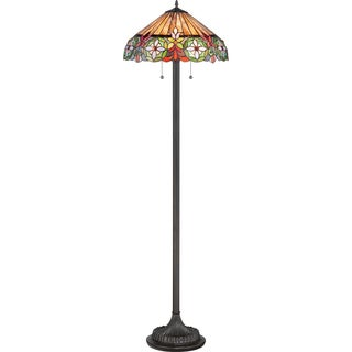 Mariah 2-light Vintage Bronze Floor Lamp