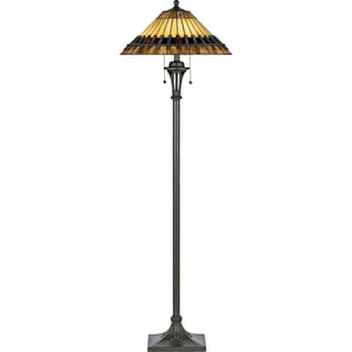 Chastain 1-light Black Floor Lamp
