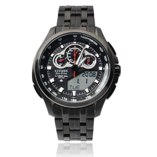 Citizen Men's Stainless Steel Eco-Drive Promaster Chronograph Watch