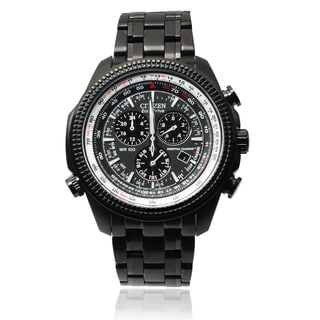 Citizen Men's BL5405-59E Eco-Drive Perpetual Calendar Black IP Stainless Steel Watch