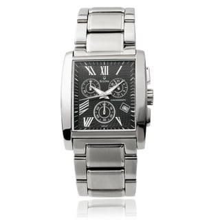Bulova Men's 96G45 Stainless Steel Chronograph Link Watch