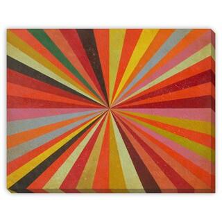 Benjamin Arnot 'Light Speed' Canvas Gallery Wrap
