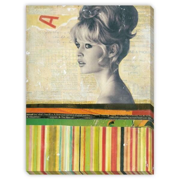 Benjamin Arnot 'Bardot' Canvas Gallery Wrap