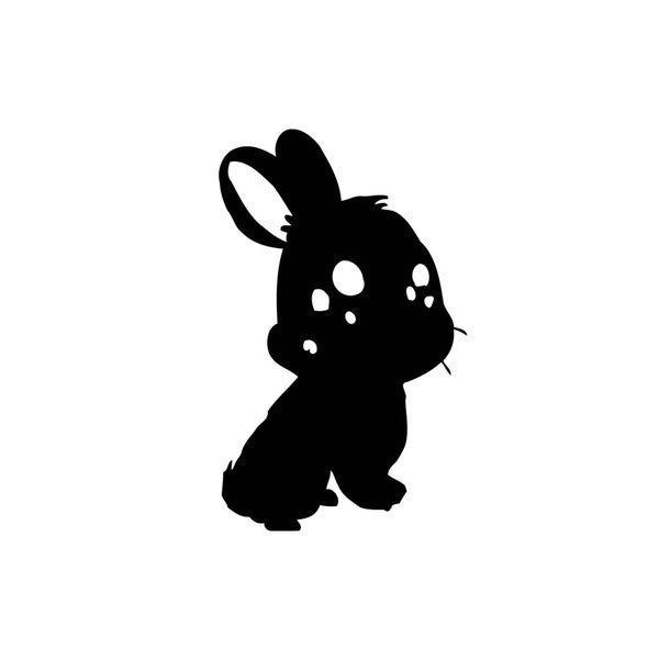 Small Bunny Vinyl Wall Decal