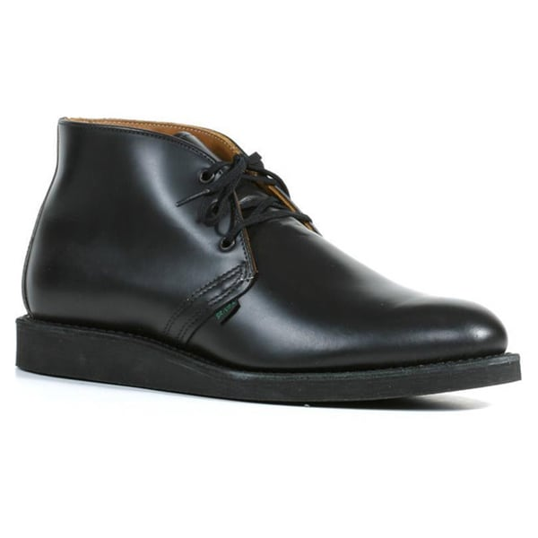 Red Wing Heritage Men's 'Postman Chukka' Black Leather Ankle Boots