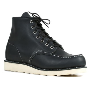 Red Wing Men's 'Heritage' Black Leather Moc Toe Ankle Boots