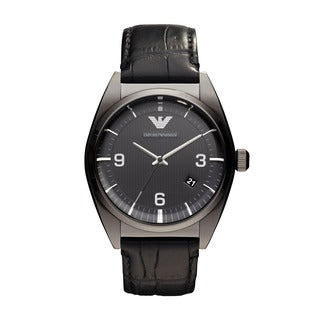 Armani Men's AR0368 Black Classic Watch