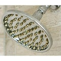 Rainfall 6-inch Chrome/ Polished Brass Shower Head