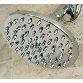 Rainfall 6-inch Chrome Shower Head