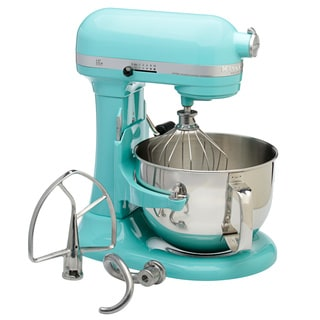 KitchenAid RKP26M1XAQ Aqua Sky 6-quart Pro 600 Bowl-lift Stand Mixer (Refurbished)