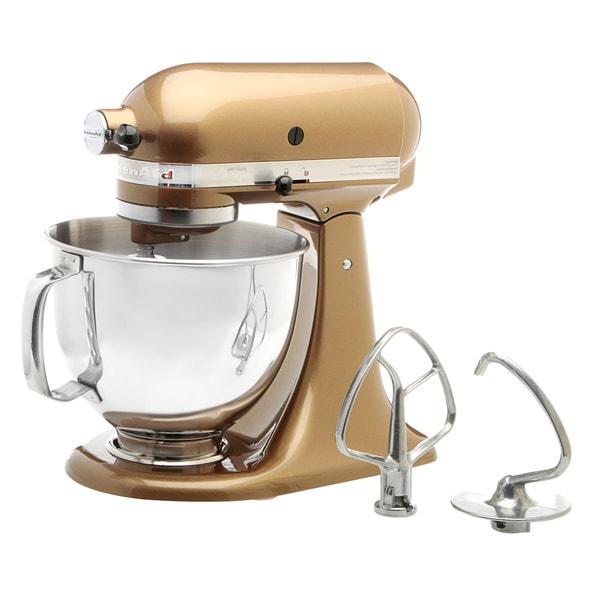 KitchenAid RRK150TF Toffee 5-quart Artisan Design Tilt-head Stand Mixer (Refurbished)