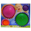 Style 1 Mini Sensory Multi Knobby Balls (Set of 4)