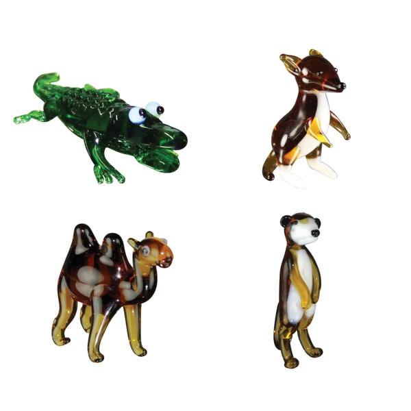 Looking Glass Exotic Animals Miniature Figures 12900550