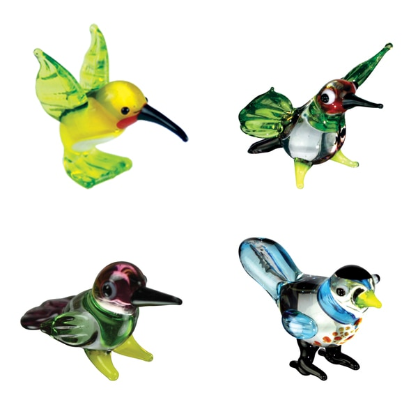 Looking Glass Hummingbird-themed Miniature Figures 12900587
