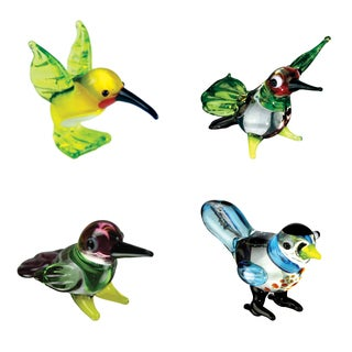 Looking Glass Hummingbird-themed Miniature Figures