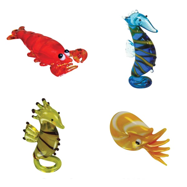 Looking Glass Creatures of the Sea Miniature Figures 12900589