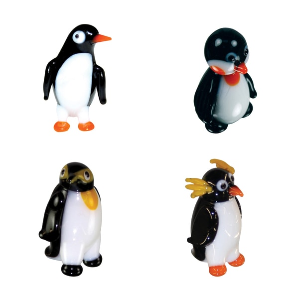 Looking Glass Penguin Miniature Figures