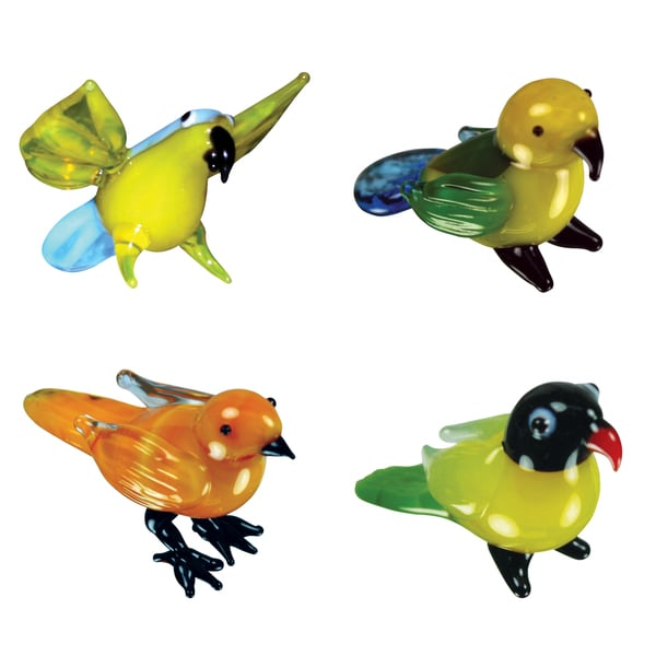 Looking Glass Exotic Birds Miniature Figures 12900928