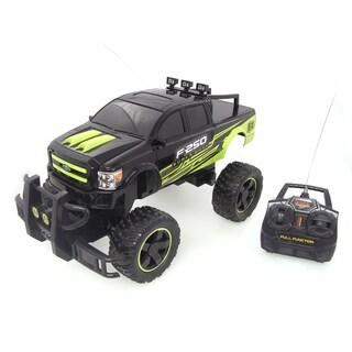NKOK 14-Inch RC Black and Green Ram 2500 Power Wagon