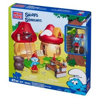 Mega Bloks Smurfs Papa Smurf's House