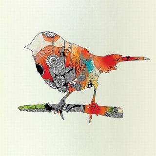 Iveta Abolina 'Little Bird' Canvas Art