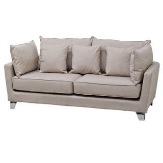 Gold Sparrow Lexington Beige Fabric Sofa