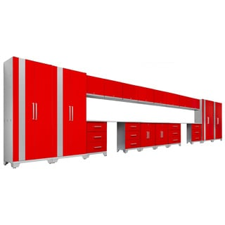 NewAge Products Performance Series Red 21-piece Cabinet Set