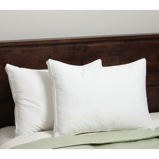 Hotel Madison Down Alternative Ergoloft Curved Gusset Pillow (Set of 2)