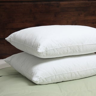 Spring Air 400 Thread Count Quilted Ultima Down Alternative Pillow (Set of 2)