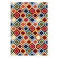 Alliyah Hand-tufted Multicolor New Zealand Wool Rug (5'x 8')