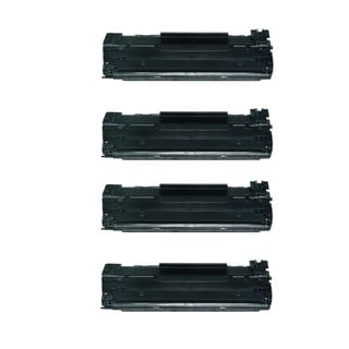 HP 85A CE285A Compatible LaserJet Toners (Pack of 4)