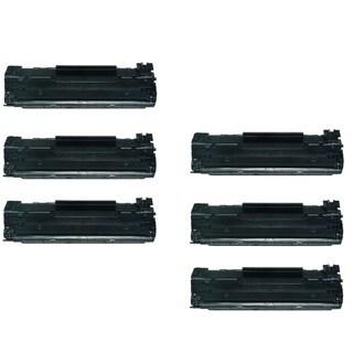 Compatible Canon 125 3484B001AA CRG-125 Toner Cartridge For Canon ImageCLASS LBP6000 LBP6300d (Pack of 6)