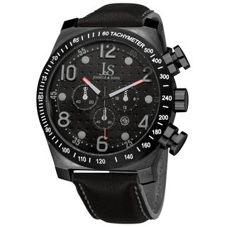 Joshua & Sons Men's Stainless Steel Chronograph Sport Watch