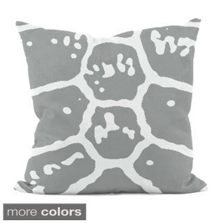 20 x 20-inch Animal Patterned Decorative Throw Pillow